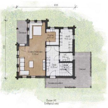 BISON Haus 145 EG