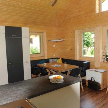 Moderne Küche Haus aus Holz