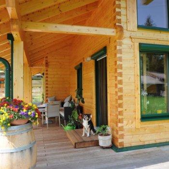 Terrasse aus Holz BISON